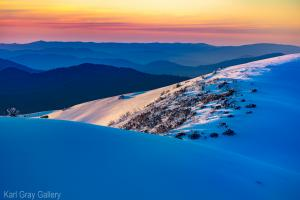 Curvey curvey in all its colour from Karl Gray Gallery hotham sunset - 78