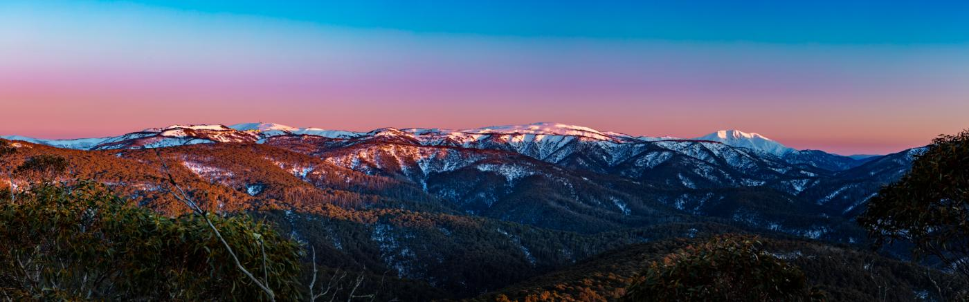 Karl Gray, Big Morning View at Hotham