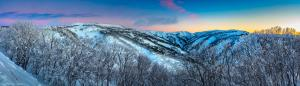 Mount Hotham resort print australian alpine photos - Karl Gray